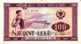 Albanie - Albania 1964 Billet 100 Leke Pick 39 Neuf UNC - Albanie