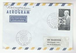 1973 Visby  SWEDEN Stamps COVER EVENT Pmk PETRUS DE DACIA  Religion Aerogramme - Sweden