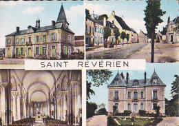 Souvenir De SAINT REVERIEN   - 4 Vues - Dentelée - - Francia