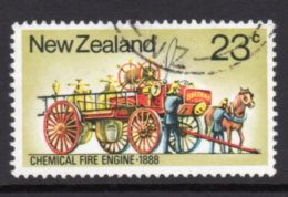 Chemical Fire Engine 1888 Stamp - Trucks