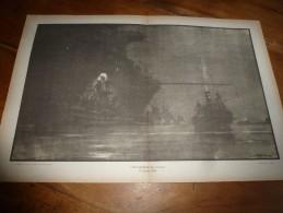 La Guerre Navale à Travers Le Temps , Gravure Albert Sébille  OCCUPATION De CORFOU (dimension Du Document = 50cm X 33cm - Boats
