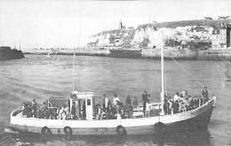 BATEAU DE PROMENADE ( TOURISTIQUE ) Le SANTA BARBARA Pêche En Mer à DIEPPE (76) CPSM PF (Sightseeing Boat Ausflugsboot ) - Bateaux