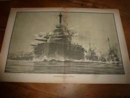 La Guerre Navale à Travers Le Temps  Gravure Albert Sébille  BOMBARDEMENT De CATTARO (dimension Document = 50cm X 33cm - Boats