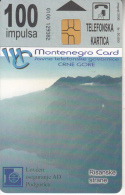 MONTENEGRO - Risanske Strane, SKY SAT Communications, Tirage 50000, 08/00, Used - Montenegro