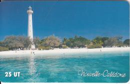 NEW CALEDONIA(chip) - Lighthouse, Le Phare Amedee, Tirage 50000, 05/02, Used - Lighthouses
