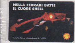 SHELL - ITALY - FERRARI - FORMULA-1 - MINT - Other Collections