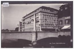 THUN - BAHNHOFBRÜCKE - TIRAGE PHOTO SUR PAPIER ( EPREUVE ) - TB - BE Bern