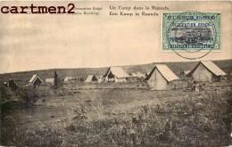 CONGO BELGE EST AFRICAIN ALLEMAND CAMP DANS LE RUANDA ENTIER POSTAL TIMBRE OCCUPATION GUERRE Deutsche Kolonien - Ruanda-Urundi