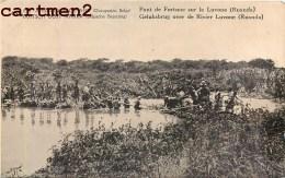 CONGO BELGE EST AFRICAIN ALLEMAND PONT SUR LA LUVONE RUANDA ENTIER POSTAL TIMBRE OCCUPATION GUERRE Deutsche Kolonien - Ruanda-Urundi