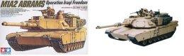 M1A2 Abrams Operation Iraqi Freedom  1/35 ( Tamiya ) - Military Vehicles
