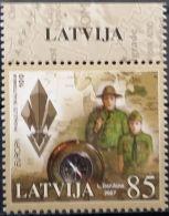 Latvia, 2007, Mi. 700, Sc. 677, Europa, MNH - 2007