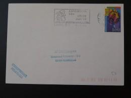 53 Mayenne Laval Expo Leo Lelee 1994 - Flamme Sur Lettre Postmark On Cover - Art