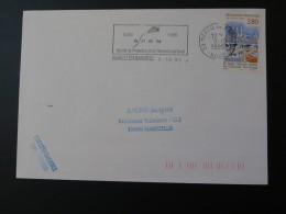 59 Nord Marcq En Baroeul SPRN Cerf-volant Kite 1995 - Flamme Sur Lettre Postmark On Cover - Mechanische Stempels (reclame)