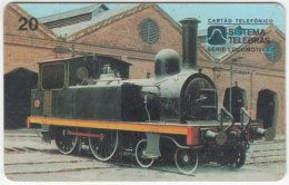 BRASIL D-072 Magnetic Telebras - Traffic, Historic Steamlocomotive - Used - Brésil