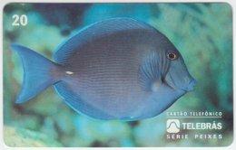 BRASIL D-172 Magnetic Telebras - Animal, Sea Life, Fish - Used - Brésil