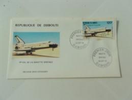 DJIBOUTI (1981) NAVETTE SPATIALE - Djibouti (1977-...)
