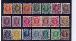 SERIE  HOUYOUX 190 / 210  MNH** COB 475 à 13 % = Départ 61,90 PORT GRATUIT - 1922-1927 Houyoux