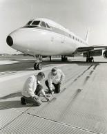 USA Wallops Island Recherche Aeronautique Ingénieurs Horne & Yager Ancienne Photo NASA 1968 - Aviation