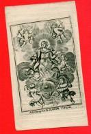 Assumptio MARIA Virgin Gravure De Boudt Priester CUYPERS Adrianus° Noorderwijk Herentals 1794 LANGDORP Nieuwrode 1840 - Décès