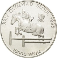 Corée Du Sud, 10.000 Won 1988 - Argent / Silver Proof - Corée Du Sud