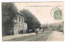 151. - SAINT-MARTIN D'ESTREAUX  - La Gare - Otros Municipios