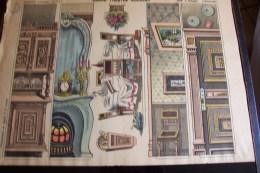 Imagerie D´épinal ,n°1677 ,grand Théâtre Nouveau ,salle à Manger ,coulisses - Vieux Papiers