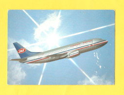 Postcard - Airplanes, JAT   (V 28690) - 1946-....: Moderne