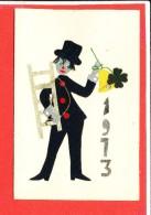 Carte Fantaisie Matériaux * Feutrine Tissus - Cartoline