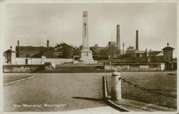 GB WARRINGTON / War Memorial / GLOSSY CARD - Autres