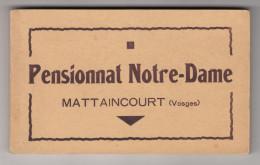 CPA - Mattaincourt - Pensionnat Notre Dame - Carnet De 20 Cartes Postales Complet - France