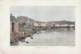 1903 - Phototypie Couleur - Martigues (Bouches-du-Rhône) - Vue Générale - FRANCO DE PORT - Vieux Papiers