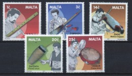 Malta Unmounted Mint Set Of Stamps For Musical Instruments. - Malta