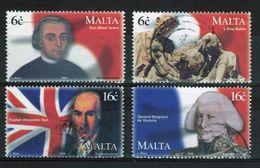 Malta Fine Used Set Of Stamps Celebrating Maltese Uprising Against The French. - Malta