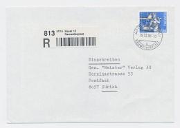 CH- Brief  -Einschreiben( Be8247  ) Siehe Scan  ! - Suisse
