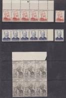 Belgisch Congo 1947 Overwinning Slavenhandel 3v 6x ** Mnh (30269) - Belgisch-Kongo
