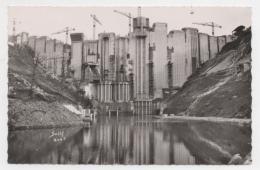 19 CORREZE - BORT Le Barrage En Construction - Autres Communes