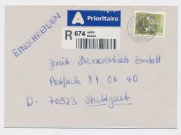 CH- Brief  -Einschreiben /Luftpost     ( Be8251  ) Siehe Scan  ! - Suisse