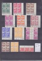 TIMBRE. COLONIE  ALGERIE COINS DATES LOT 1964 - Unclassified