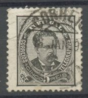 Portugal 1883 5r King Luiz Issue #58 - Used Stamps