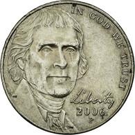 Monnaie, États-Unis, Jefferson Large Facing Portrait - Enhanced Monticello - Emissioni Federali