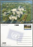 2002, UNO Genf - Ganzsache:  Palais Der Nationen Genf, MNH ** - Briefe U. Dokumente