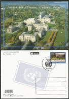 2002, UNO Genf - Ganzsache:  Palais Der Nationen Genf, Gestempelt - Briefe U. Dokumente