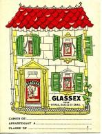 PROTEGE CAHIER- GLASSEX - Buvards, Protège-cahiers Illustrés