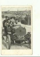 Année Millésime Jaar NNieuwjaar Bonne Année Jaartal 1914 - 1915 Dynastie  Roi Albert Reine Elisabeth Voiture Auto - Westerlo