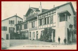 Dept 64 - Guéthary - Villa Harispe   ( Scan Recto Et Verso ) - Guethary