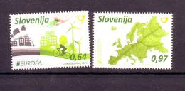 Slovenia 2016 Y Europa Cept Think Green Ecology MNH - Slovénie