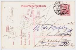 "Etapes, 1918, Zivilarbeiterpostkarte ""  , #5851 - [OC26/37] Staging Zone"