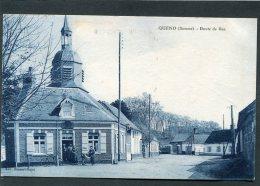 CPA - QUEND - Route De Rue, Animé - Quend
