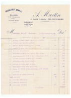 AMEUBLEMENT COMPLET  A.  MARTIN   à VALENCIENNES (NORD)  1927 - France