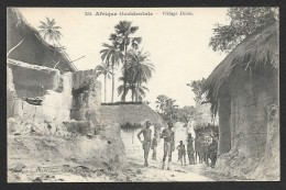Village Diola (Fortier) Sénégal AOF - Sénégal